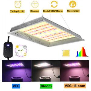 TS 1200W LED Grow Light Sunlike Veg Bloom Full Spectrum Veg Flower Indoor Plant