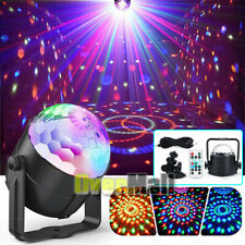 Laser Stage Lighting RGB LED USB Projector Light Home Party Disco Lamps+Remote