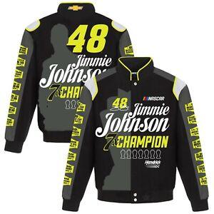 Jimmie Johnson JH Design Commemorative  Nascar Cup  Champion Jacket