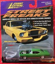 Rare Johnny Lightning Street Freaks ~ 1968 Chevelle (Green) ~ Moc