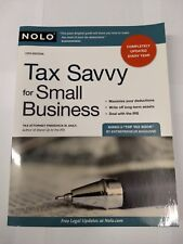 Tax Savvy for Small Business by Frederick W Daily (Paperback / softback, 2009)