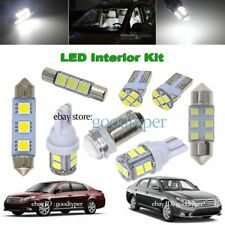 16x White LED Map Dome lights interior package kit fit 2005-2012 Toyota Avalon