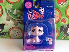 Littlest Pet Shop #576 Purple Cat Kitten Exclusive Set Toy New 2007 USA Seller