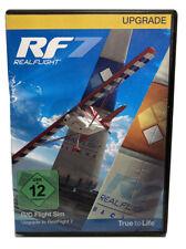 Realflight RC Flight Simulator RF 7 UPGRADE DVD