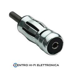 Adattatore per autoradio antenna auto ISO maschio - DIN femmina