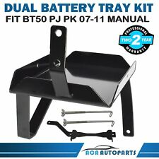 Fit Mazda BT50 BT-50 for Ford PJ PK Ranger Dual Battery Tray (Manual) 2007-2011
