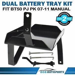 Fit Mazda BT50 BT-50 for Ford PJ PK Ranger Dual Battery Tray (Manual) 2007-2011