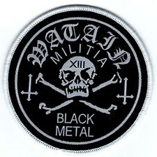 WATAIN - Militia Black Metal - Woven Patch / Aufnäher
