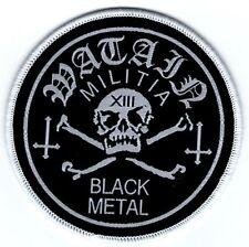 WATAIN - Militia Black Metal - Woven Patch / Aufnäher