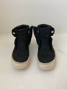 Rick Owens Suede Island Dunk Boots