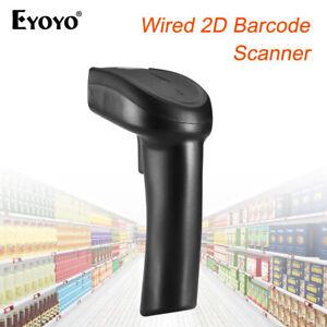 Eyoyo Barcode Scanner Strichcode 1D Data Matrix QR PDF417 Reader für XP Mac OS