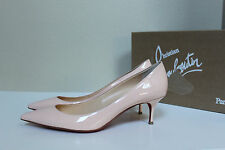 9.5 / 40 Christian Louboutin Pink Pigalle Follies Pointed Toe Low Heel Pump Shoe