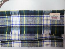 VINTAGE DRESS GORDON 100% PURE WOOL SHAWL /SCARF MADE IN GREAT BRITIAN FOR CISCO
