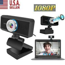 Hd 1080P Usb Webcam Video Camera Web Cam With Mic For Computer Desktop Pc Laptop