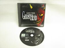 PS1 CLOCK TOWER GHOST HEAD No Instruction bbn Playstation Japan Game p1