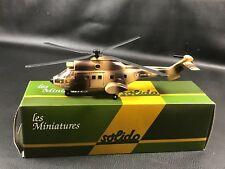 """SOLIDO MINIATURE MILITAIRE HELICOPTERE  BOITE """"49"""""""