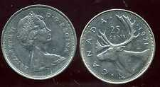 CANADA 25 cents  1971   ANM