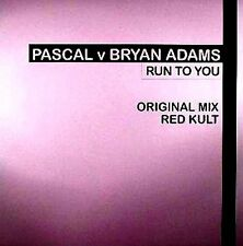 "12"" - Pascal vs Bryan Adams - Run To You (DISCO) MINT"