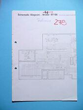 Service-Schema für Technics ST-S6  ,ORIGINAL
