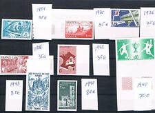 Francia. 8 sellos Pruebas de Lujo con valor de Catalogo 370 Euros