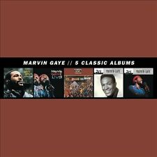 5 Classic Albums [Box] by Marvin Gaye (CD, 2013, 5 Discs, Motown)