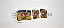 Bicycle Columbus MAX Ellissi Orientate Rinforzati Frame & Fork Decals Stickers