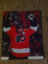 Simon Gagne Autographed 8x10 photo LA Kings Flyers Canada Lighining PROOF