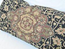 Ralph Lauren Canonbury Tapestry Ebony Decorative Throw Pillow Cover 14x26