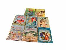 LOT OF 8 Vintage Children's Books Rand McNally, LITTLE GOLDEN BOOKS