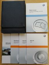 VW GOLF ESTAT JETTA ESTATE SPORTWAGEN HANDBOOK MANUAL WALLET 2009-2013 PACK C-38