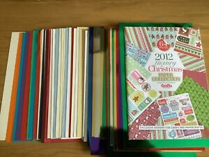 Multiple Cardstock sheets Paper, Stampin Up, Chrome, Card Lot