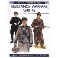 Resistance Warfare 1940-45 (MAA Nr. 169) Osprey Men at Arms