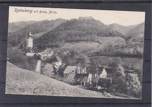 RRR Karte von Reinsberg mit Ruine Niederösterreich 1913