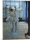 ARTCANVAS Dancer in Front of a Window 1877 Canvas Art Print by Edgar Degas