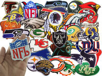 Patch Embroidered RANDOM Iron Sports league Team Football Logo Sew DIY LOT