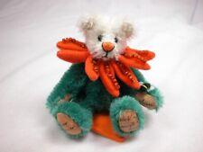 "World of Miniature Bears 3.5"" German Mohair Bear #1102 Closing"