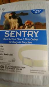 Sentry Dual Action Flea & Tick Collar #02346  NEW in package