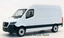 Mercedes Benz Sprinter Delivery Van White 1/87 HO Promotex 6593