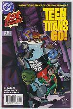 TEEN TITANS GO! #1   Vol. 1   1st Jinx   Todd Nauck   HTF   2004   NM-