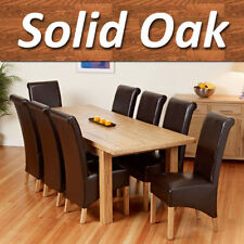 Oak Modern Dining Tables Sets with Extending