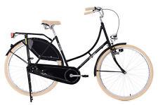 "Damenrad Hollandrad 28"" Tussaud schwarz Singlespeed KS Cycling 345H"