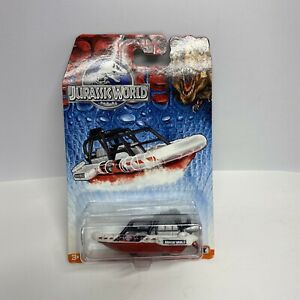 SEA SPY BOAT HOVERCRAFT JURASSIC WORLD MOVIE EDITION 2015 DIECAST RARE