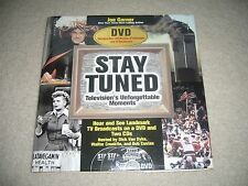 STAY TUNED BOOK TV'S UNFORGETTABLE MOMENTS WITH 3 DVD'S BY JOE GARNER
