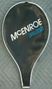 VTG John McEnroe Plus B15 Dunlop Tennis Racquet Zip Cover Taiwan
