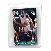 Kevin Garnett Minnesota Timberwolves 1995 Rookie Card Sprint $4 Phone Card