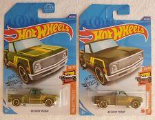 Hot Wheels Super Treasure Hunt '69 Chevy Pickup and Mainline