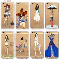 Custodia Cover Design Donna Tacchi Per Apple iPhone 4 4s 5 5s 5c 6 6s 7 Plus SE