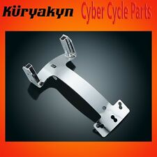 Kuryakyn Chrome Plug And Play Backrest Mount For Harley Davidson 8998