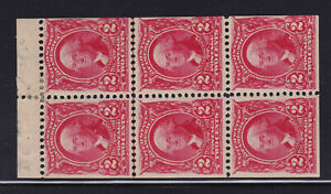 301c Booklet Pane VF OG previously hinged with nice color cv $ 500 ! see pic !