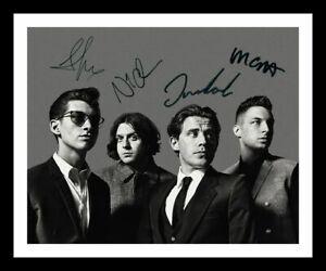 Arctic Monkeys Autograph Signed & Framed Photo